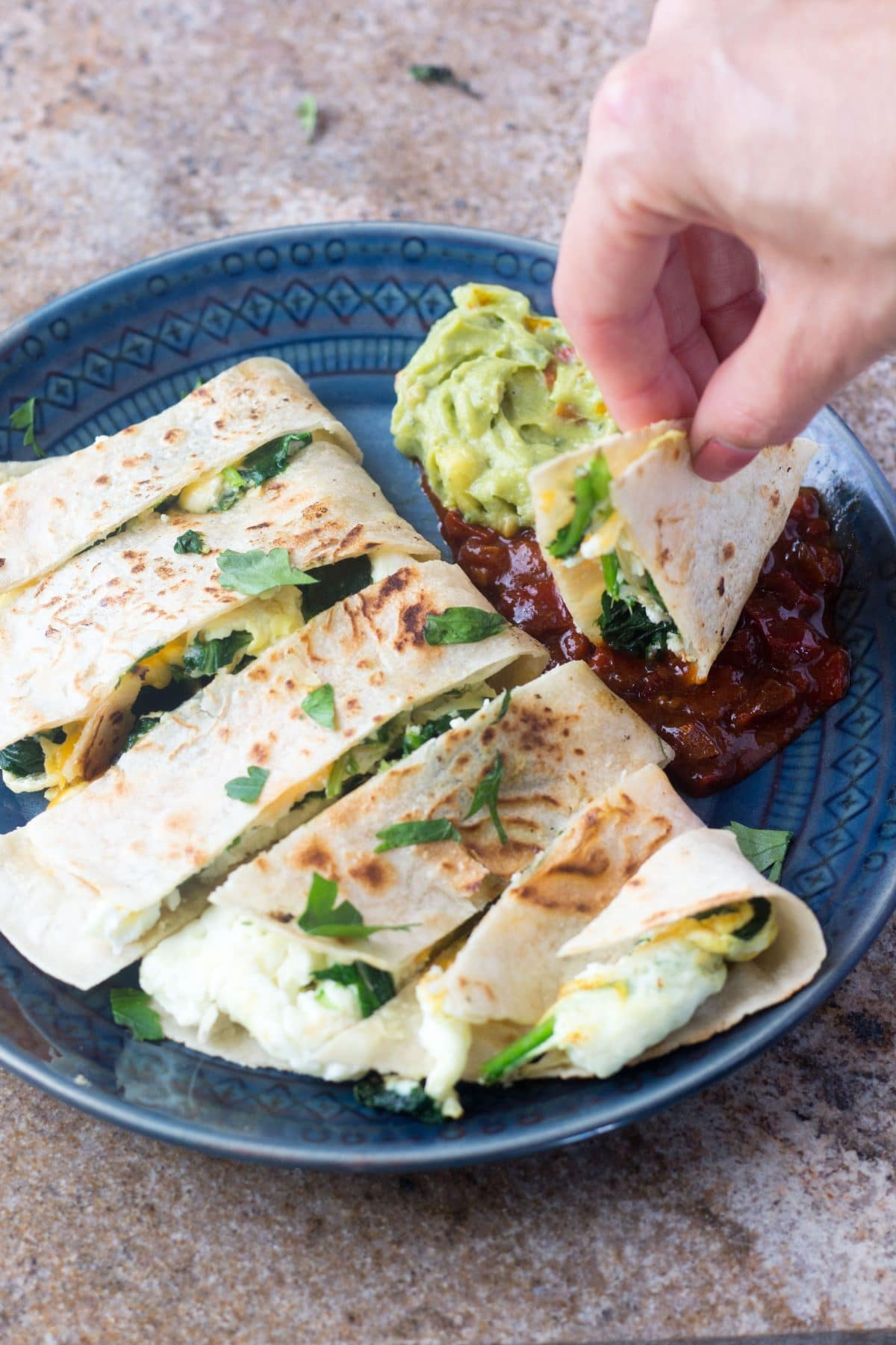 Healthy breakfast quesadilla gluten free vegetarian breakfast quesadilla forumfinder