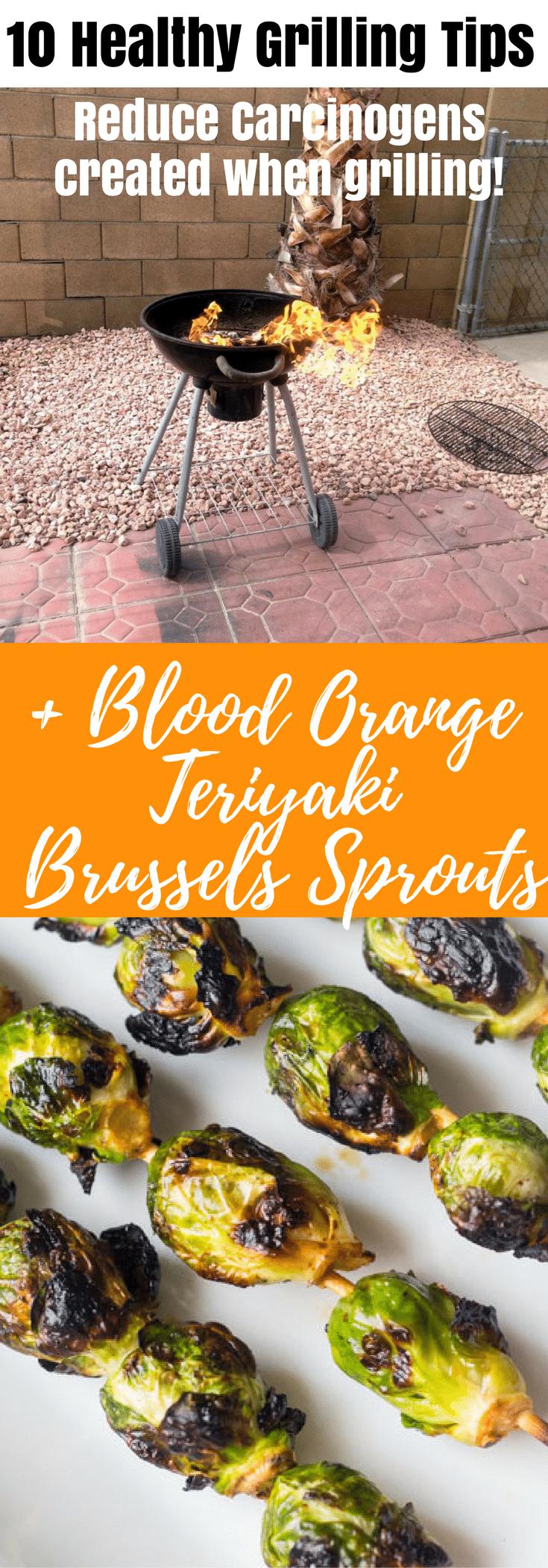 10 Healthy Grilling Tips + Blood Orange Teriyaki Skewers (Paleo)