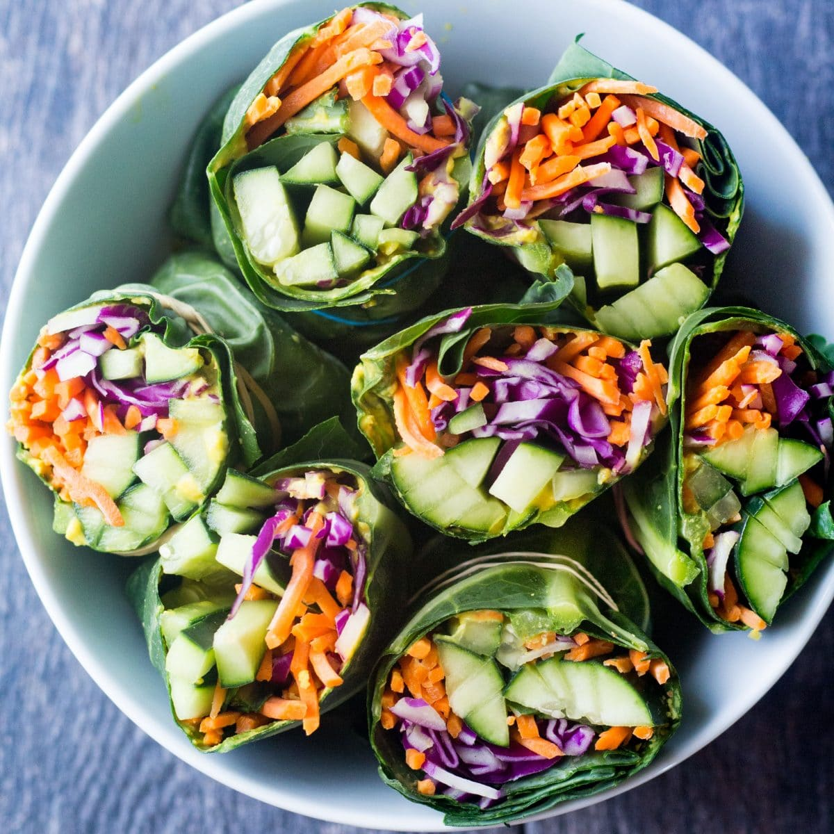 Really easy meal prep detox collard greens wraps paleo vegan easy detox collard green wraps collard greens healthy wrap forumfinder Images