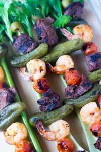 kabobs-shrimp-steak