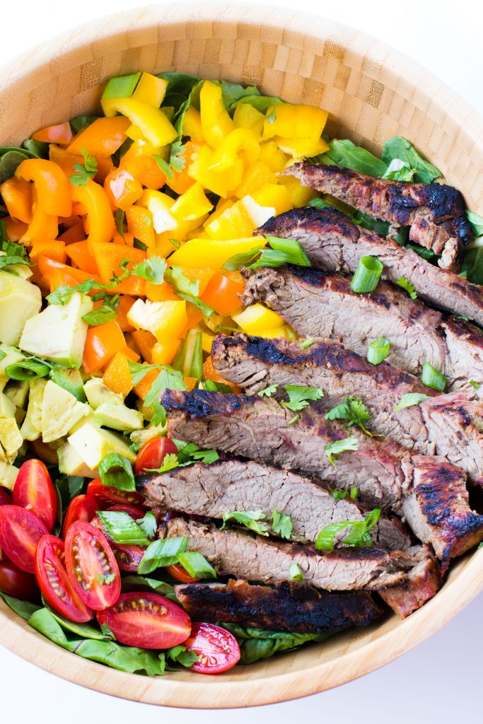 flank-steak-salad-carne-asada