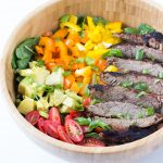 Carne Asada Flank Steak Salad