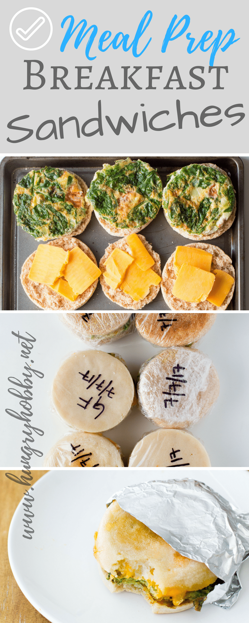 These Make Ahead Breakfast Sandwiches are freezer friendly and the game changer you need to make your morning routine smarter and more delicious!