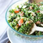 Back to Mr. Hungry's Roots:  Gluten Free Quinoa Tabbouleh Salad (Tabouli)