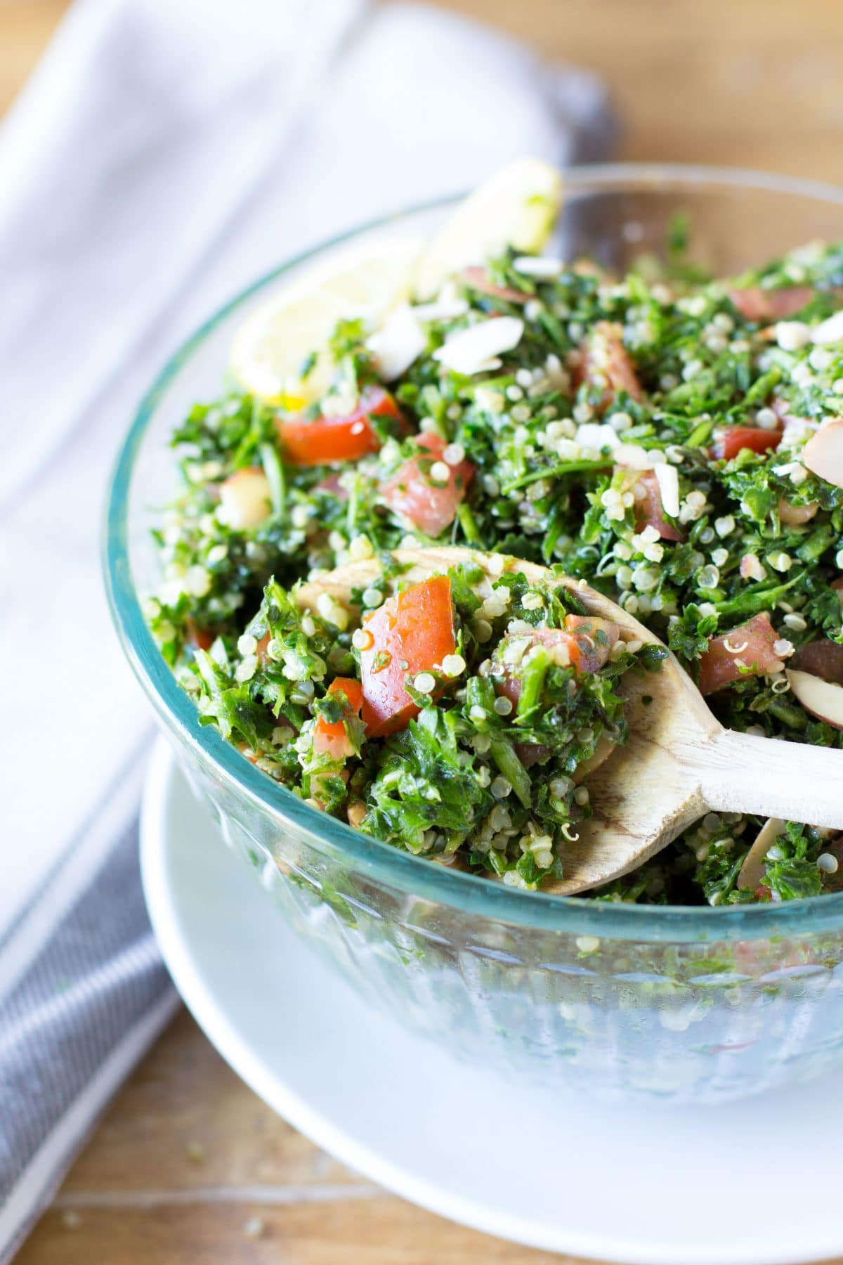 Gluten Free Quinoa Tabbouleh Salad (Tabouli) - Hungry Hobby