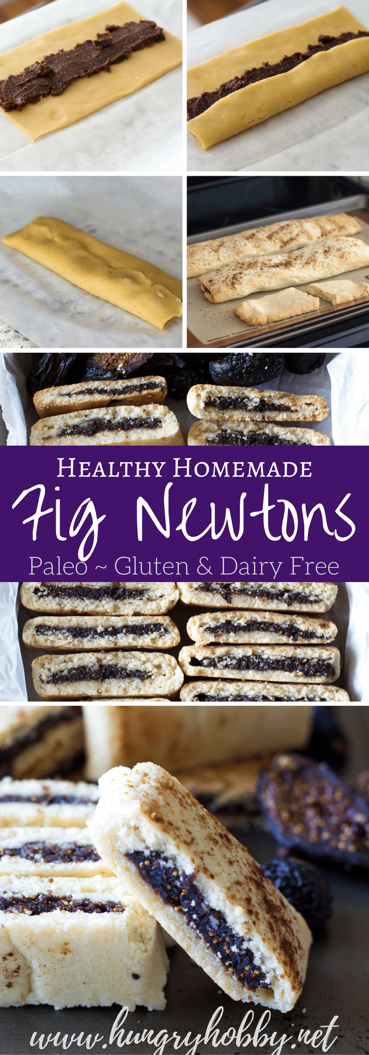 You have to make these healthy homemade versions of fig newton cookies that sweet, soft, and chewy! No preservatives, refined flour or sugar! Paleo Friendly!
