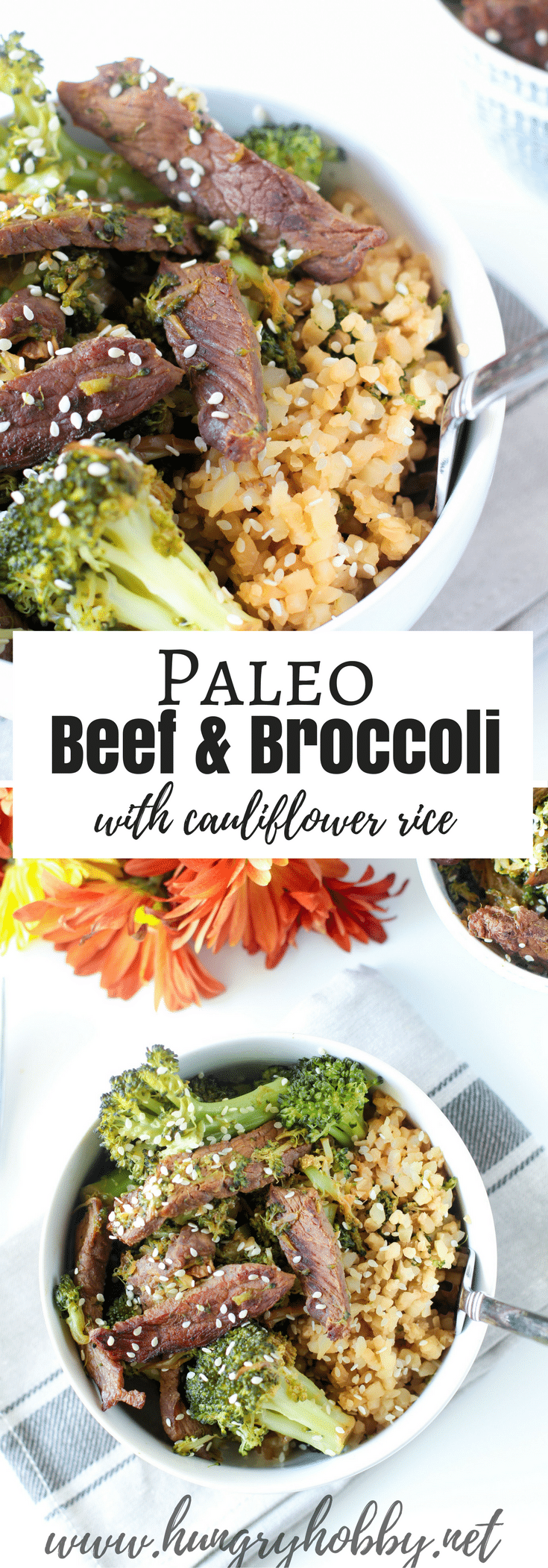 A gluten free, soy free, and paleo friendly Beef & Broccoli recipe that requires only one pan!  This one is so easy you'll want to make it every week!