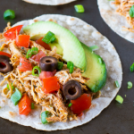 Chipotle Chicken Tacos (Instant Pot or Slow Cooker)