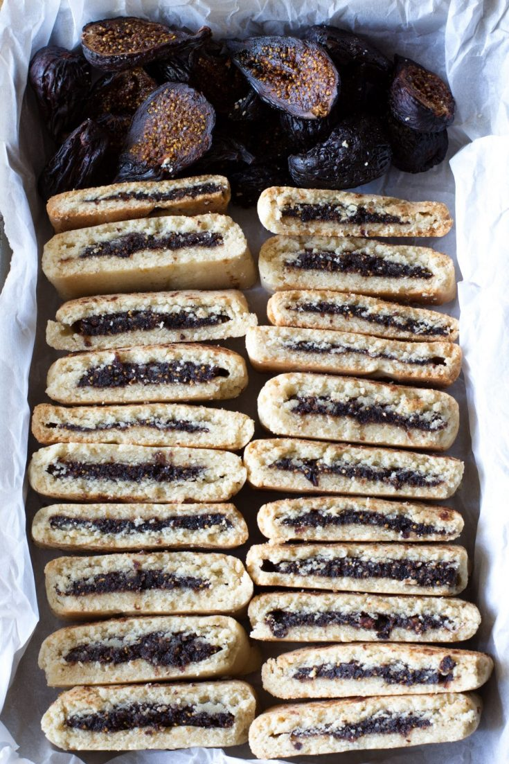 "Healthy Homemade ""Fig Newton"" Cookies"