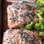 Sheet Pan Meal: Everything Salmon