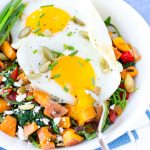 Sweet Potato & Greens Breakfast Bowls