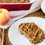 Cinnamon Apple Quinoa Bake