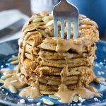 Pumpkin Coconut Flour Pancakes