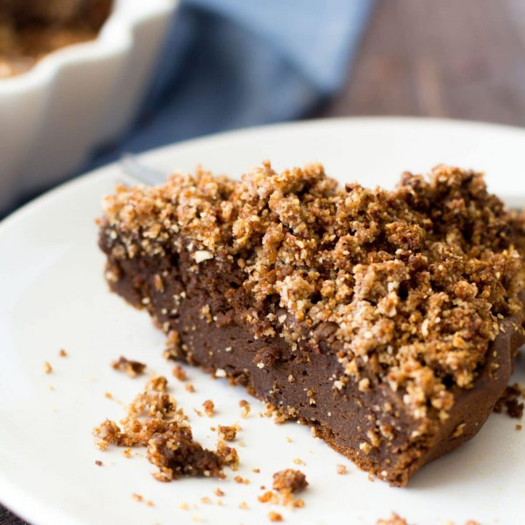 Sweet Potato Coffee Brownie Cake