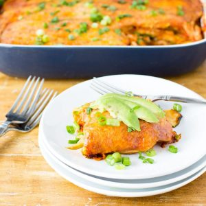 low carb turkey enchilada casserole