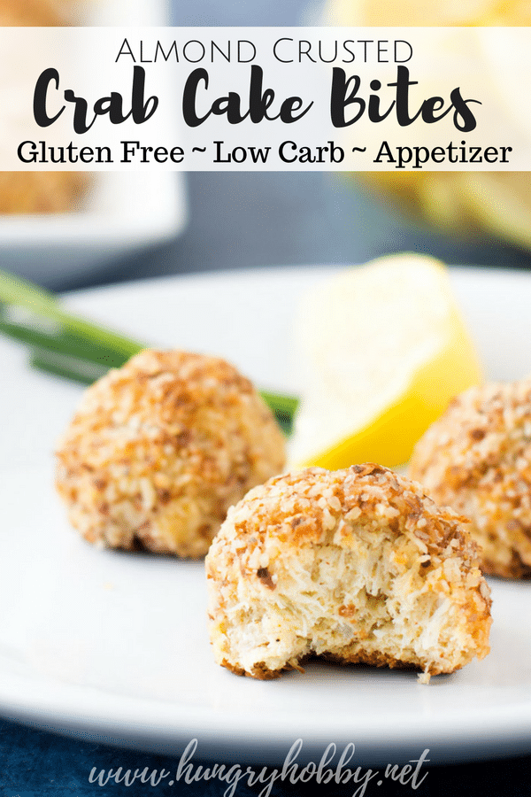 Crab Cake Bites - Healthy Low Carb Appetizer