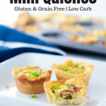 Bacon & Chive or 3 Cheese Mini Quiches