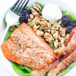 Quick Salmon & Bacon Salad
