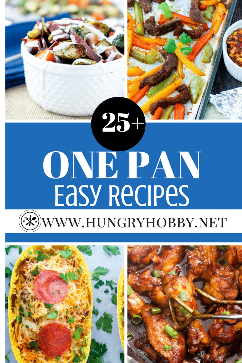 Healthy Easy One Pan Meals Recipes Round Up Gluten Free