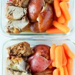 Meal Prep Maple Mustard Instant Pot Pork Tenderloin