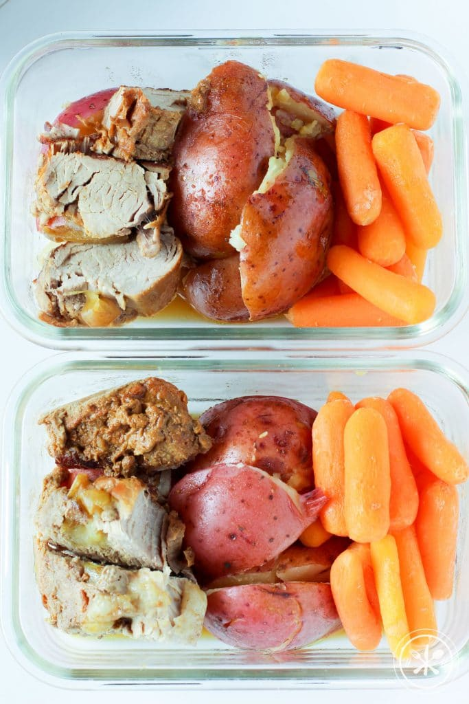 Honey Mustard Instant Pot Pork Tenderloin- Paleo/GF