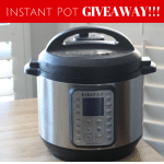 Instant Pot GIVEAWAY + Recipe Round Up
