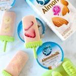 Vegan Tropical Yogurt Popsicles