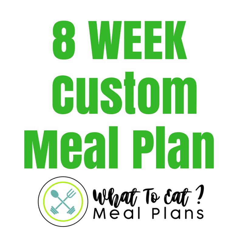 06822daded 8 Week Custom Meal Plan - Hungry Hobby