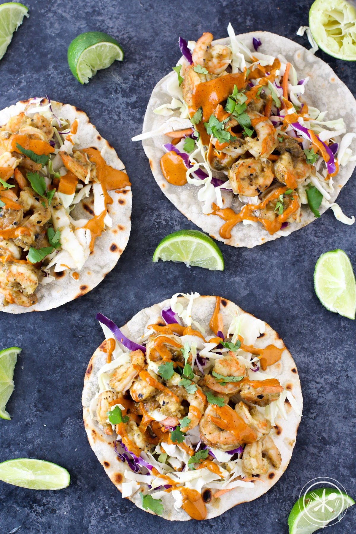 Stupid Easy Shrimp Tacos - Paleo Friendly
