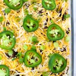 Super Easy Seven Layer Bean Dip + Giveaway