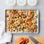 Sheet Pan Lemon Chicken & Meal Prep For Beginners Book Giveaway