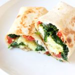 DIY Starbucks Spinach Feta Breakfast Wrap – Freezer Friendly