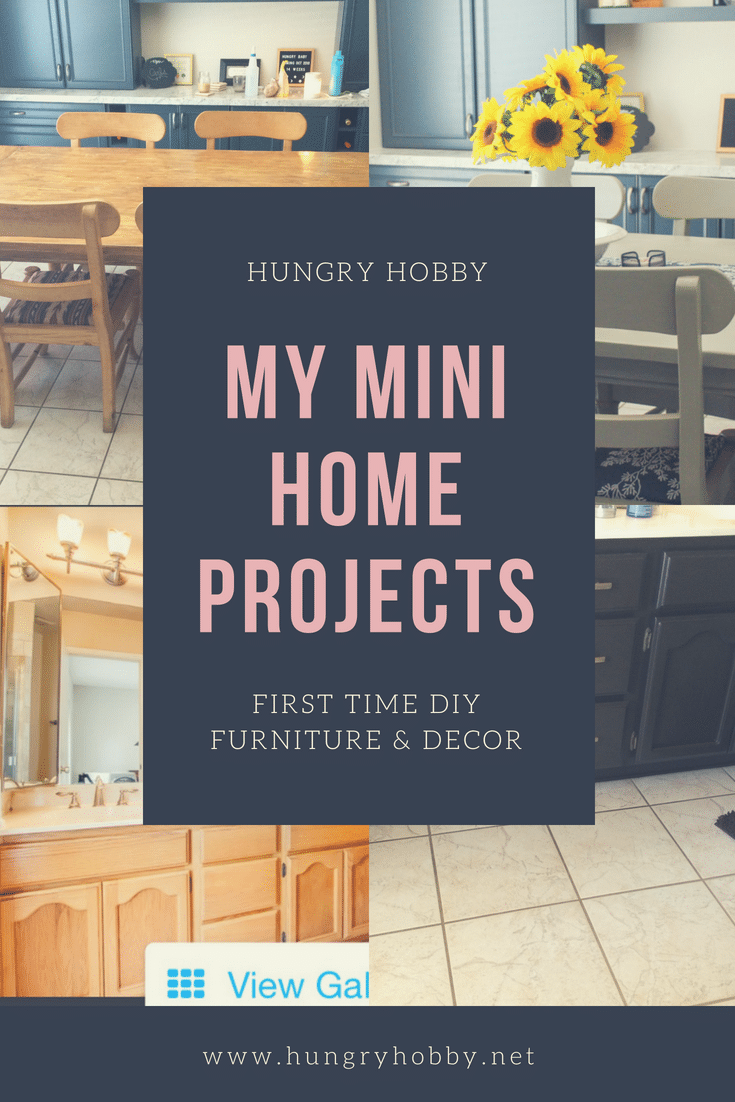 Recent mini home projects and decor we've been tackling around the house! #hungryhobby #homedecor #homeinspiration #homeremodeling