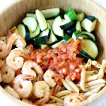 Bruschetta Shrimp Pasta