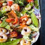 Sheet Pan Sweet & Spicy Shrimp