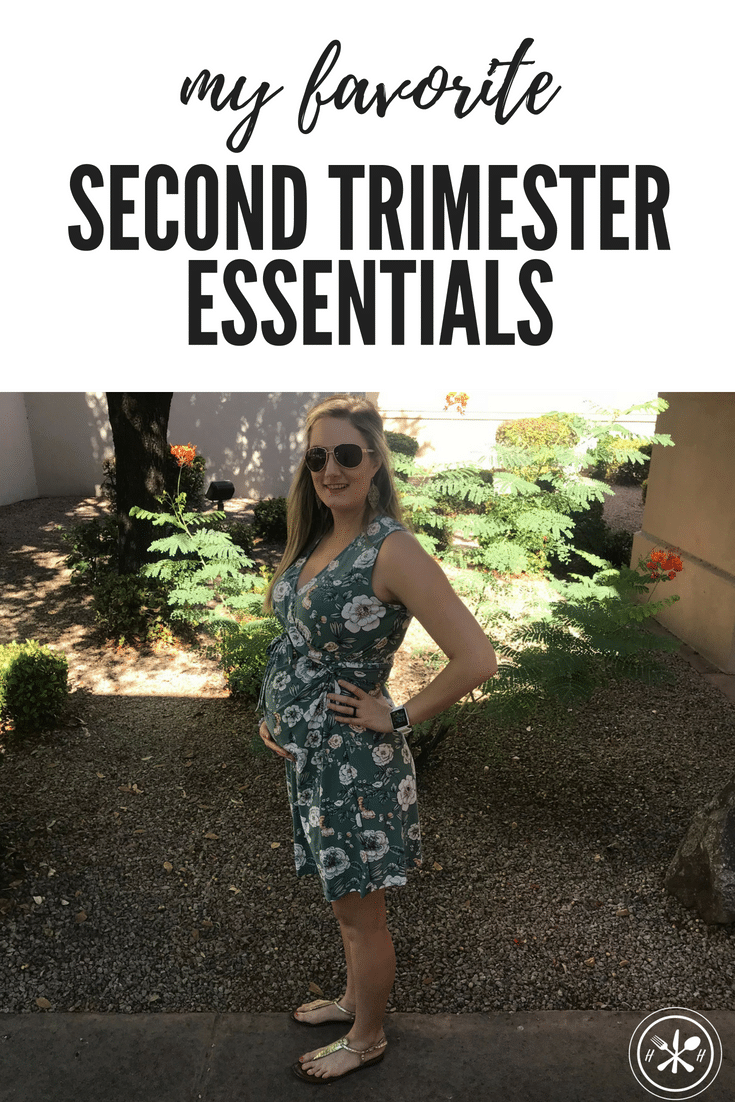 Second-trimester essentials for pregnancy!  The things I loved that kept me going through some of the unexpected symptoms of the