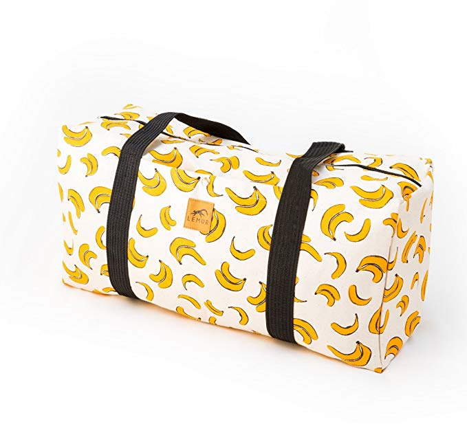 banana duffel bag