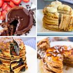 Healthy Pancake Recipe Round Up