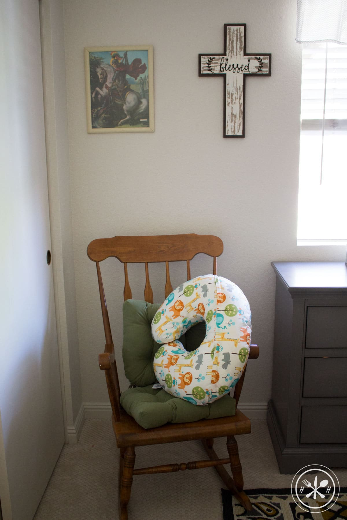 Safari Nursery Rocking Chair