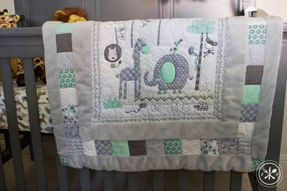 Safari Nursery Handmade Quilt