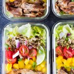 Meal Prep Pork Carnitas Bowls
