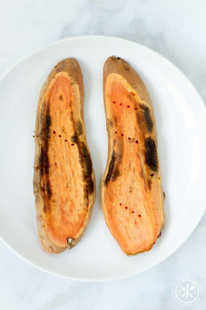 No Toppings Sweet Potato Toast