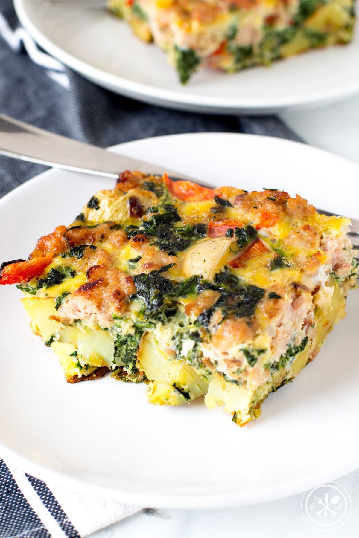 Veggie Loaded Potato Breakfast Bake
