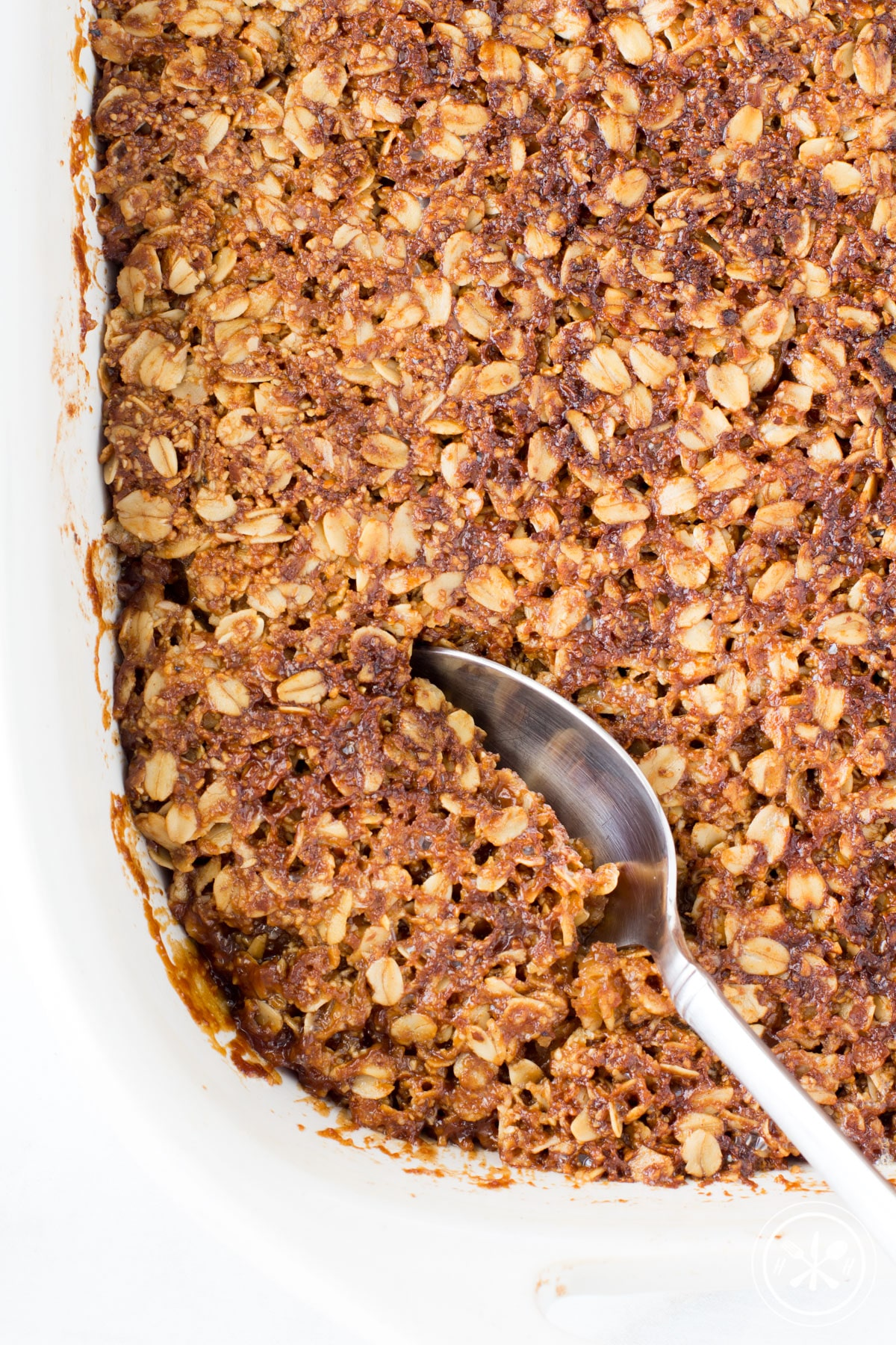 Gluten Free Apple Crisp with Oatmeal Crust