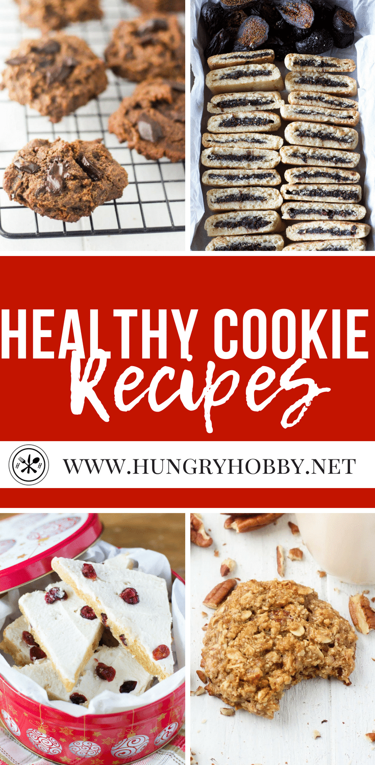 All of these cookies are free of refined flour and refined sugar.  They are also gluten-free so that everyone can enjoy! Which one will you choose?  #cookies #paleo #glutenfree #healthy #healthyrecipes #healthycooking #healthyeating #dessert #treat