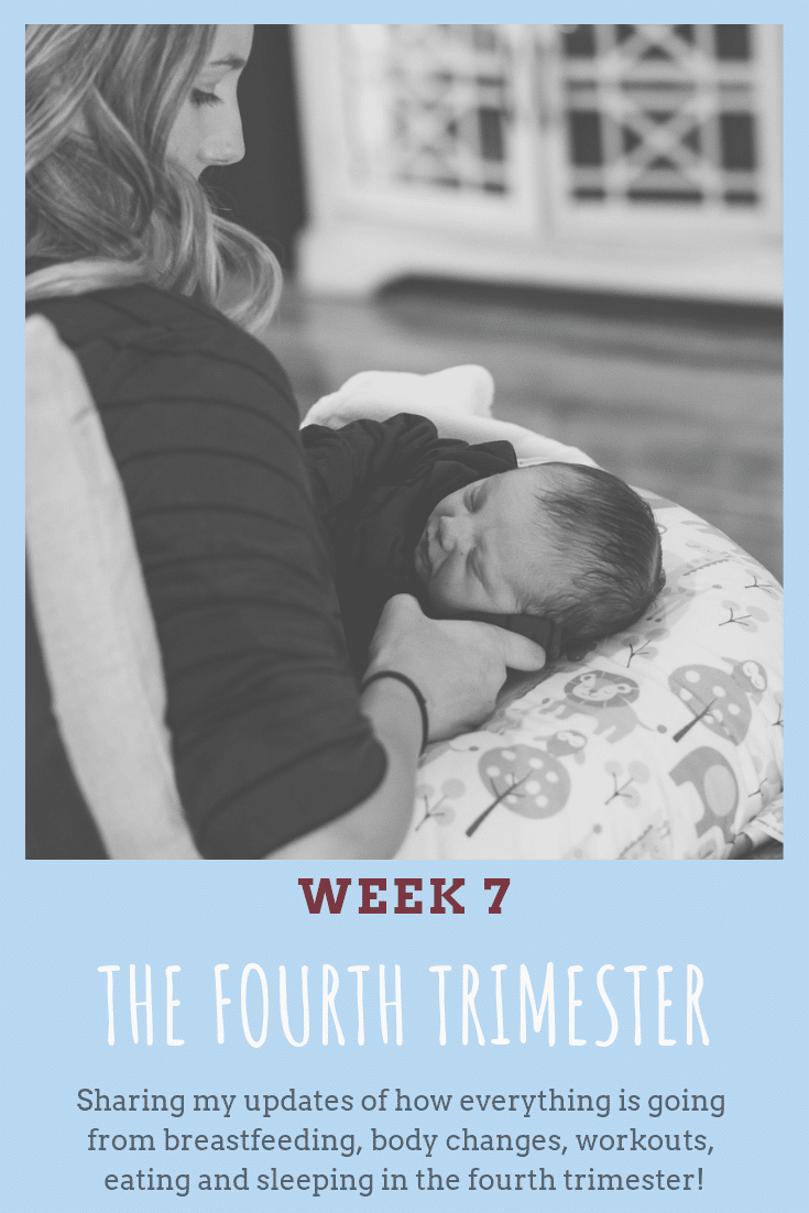 Sharing my updates of how everything is going from breastfeeding, body changes, workouts, eating and sleeping in the fourth trimester! #breastfeeding #fourthtrimester #postpartum #newbaby #newborn #newmom #mom #parenting #babies #sleep #postpartum