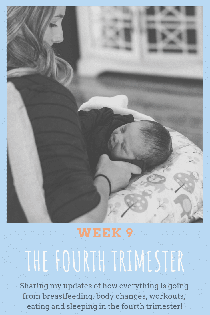 Sharing my updates of how everything is going from breastfeeding, body changes, workouts, eating and sleeping in the fourth trimester!
