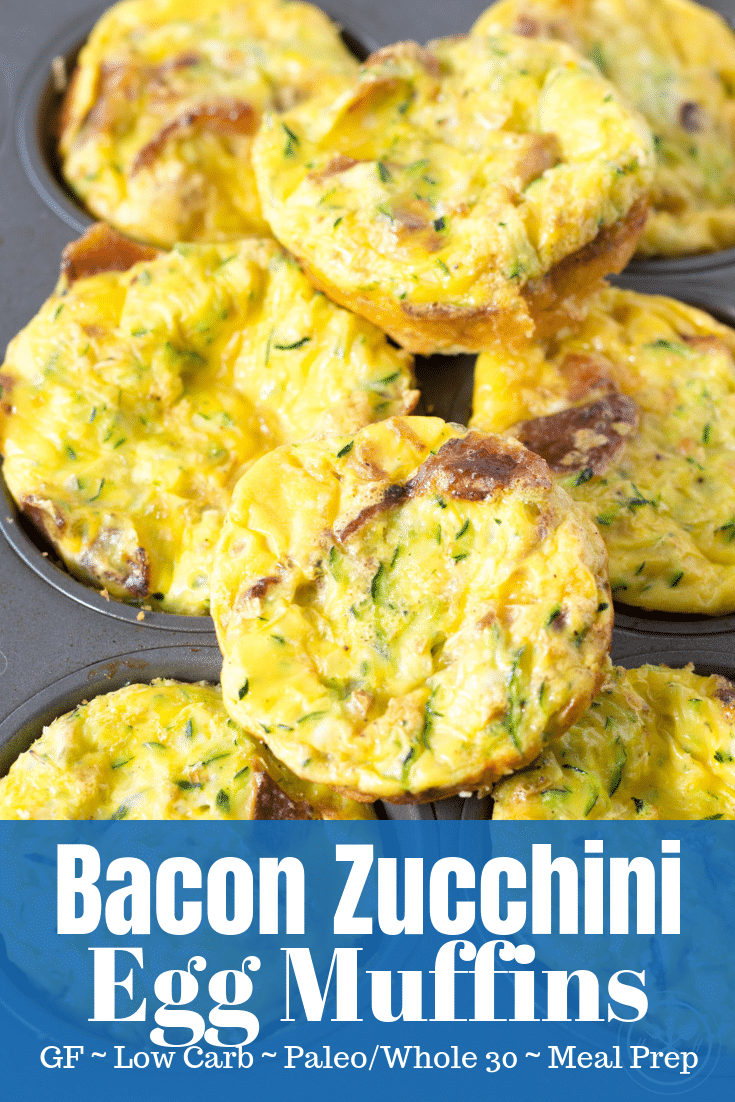 bacon and zucchini egg muffins mini quiches meal prep eggs