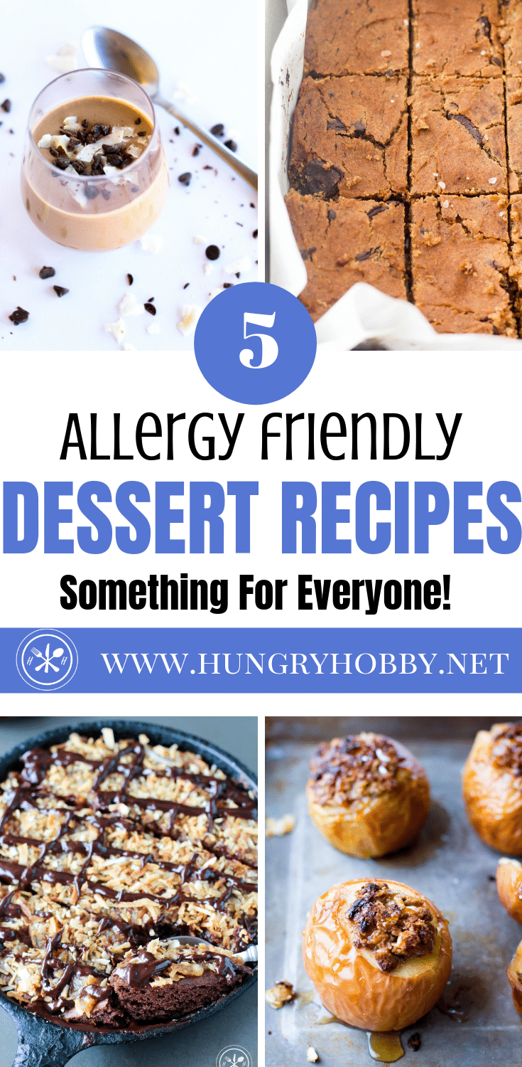 Healthier valentine's day recipes that are gluten & dairy free, plus top 8 free allergy friendly dessert options so there is something for everyone! #eggfree #nutfree #dairyfree #soyfree #glutenfree #peanutfree #allergyfriendly #dessert #vegandessert #veganglutenfree #healthydessert #top8free