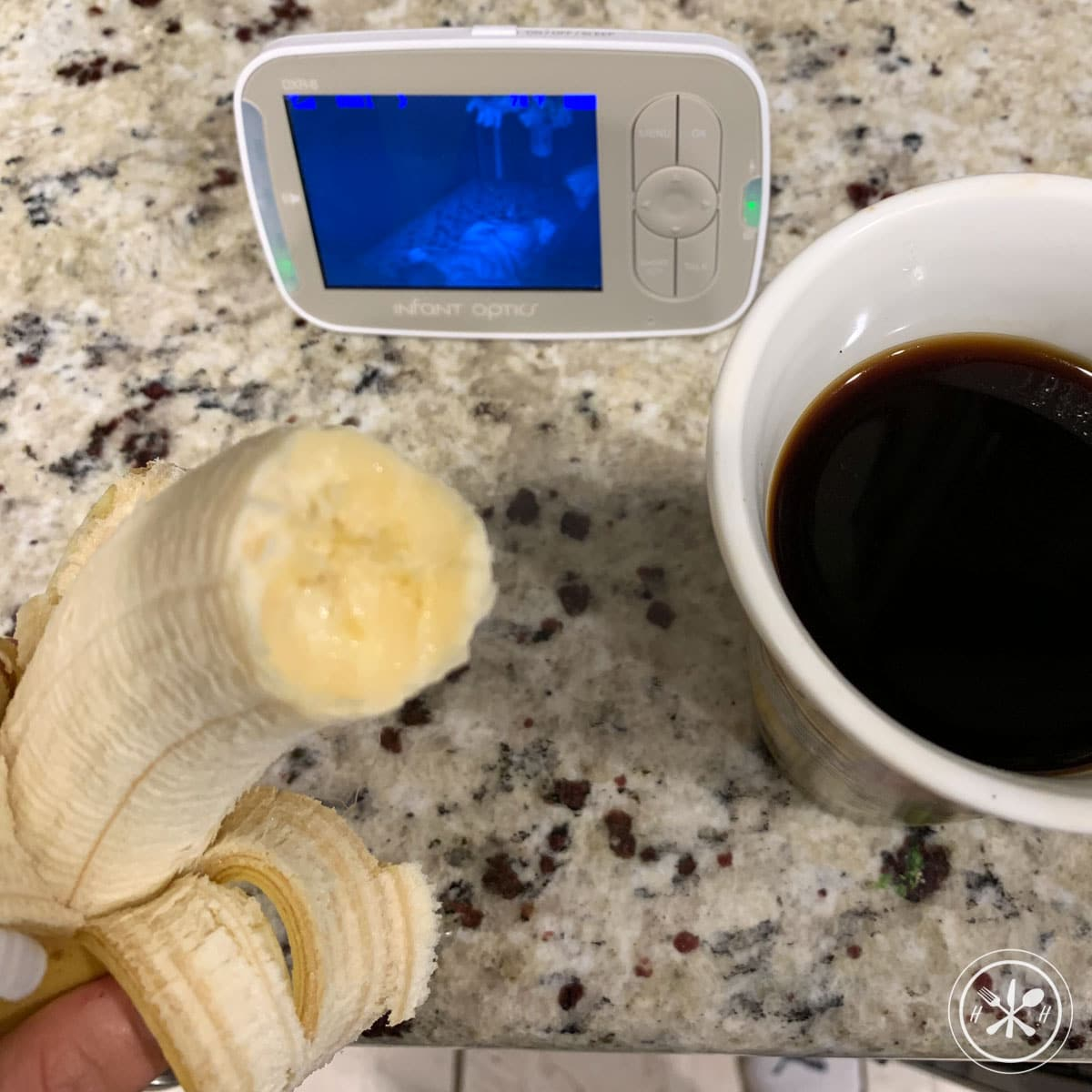 banana coffee monitor